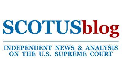SCOTUSblog 11-9-20